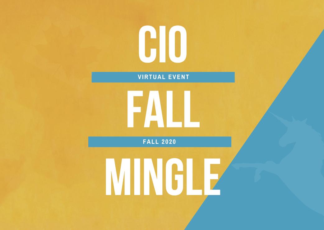 CIO Fall Mingle - Roundtables