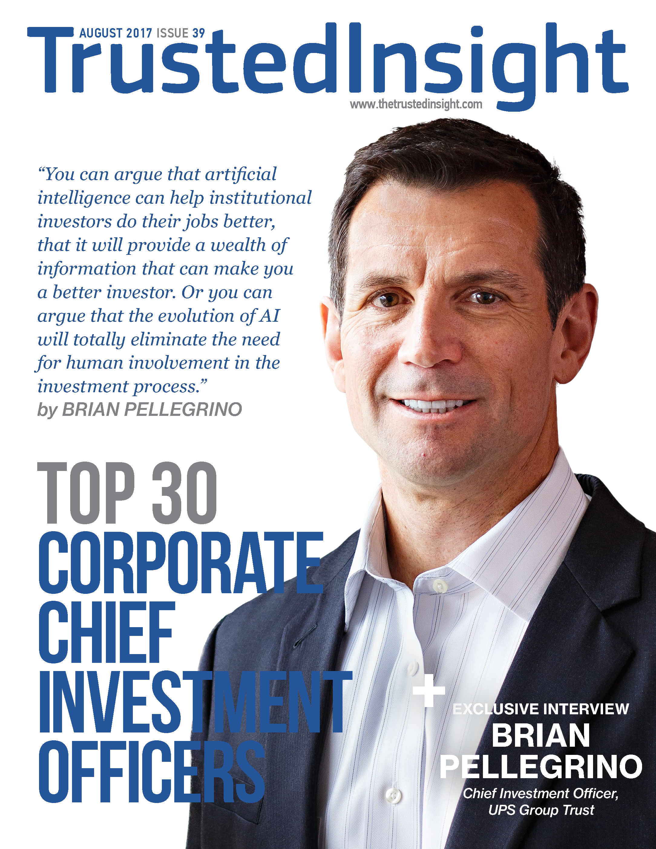 Trusted insight top 30 corporate chief investment officers 2017 2017 malvernweather Gallery
