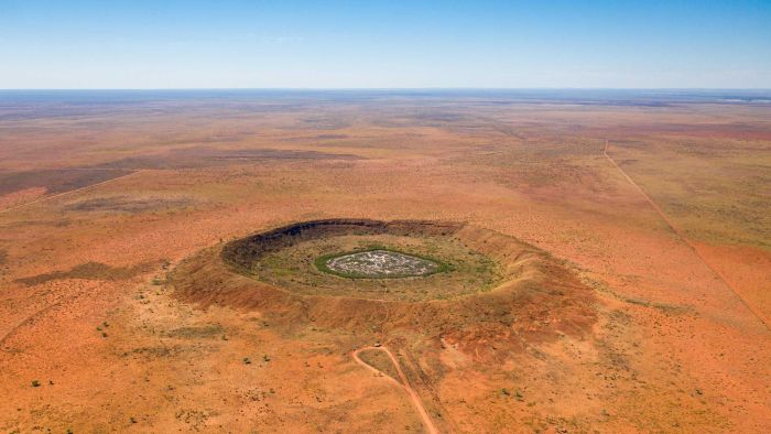 Access here alternative investment news about Meteorite Crater Discovered While Drilling For Gold In Outback Wa Estimated To Be 100 Million Years Old - Abc News