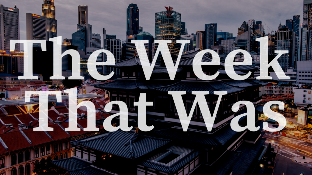 Access here alternative investment news about Editor's Take: The Week That Was — Nov 9-14