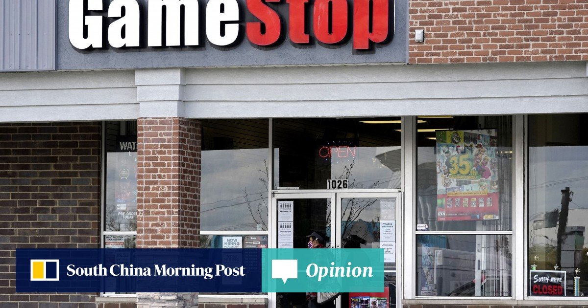 Access here alternative investment news about Why The Gamestop Stock Frenzy Is Likely To End In Financial Crisis | South China Morning Post