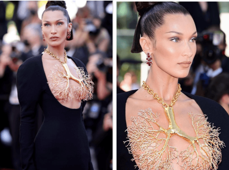 Access here alternative investment news about Bella Hadid Goes Bold At Cannes 2021, Covers Assets With A Brass, Lung Shaped Necklace - Ibtimes India