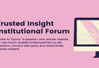 Access here alternative investment news about Trusted Insight Launches New 'Institutional Forum'