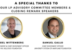 Access here alternative investment news about Joel Wittenberg And Samuel Gallo To Share Closing Remarks!