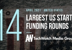 Access here alternative investment news about The 14 Largest Us Tech Startup Funding Rounds Of April 2021