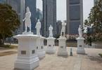 sang-nila-utama-pioneers-join-stamford-raffles-along-singapore-river